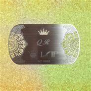 金属磁条卡,金属名片