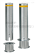 拆卸式止車樁 手動防撞擋車柱 可移動升降柱