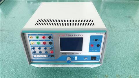 微电脑单相继电保护测试仪