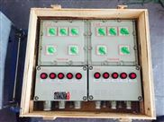 BXMD现场防爆电控箱10回路防爆照明箱厂家