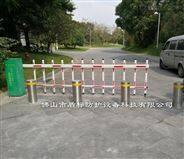 不銹鋼防撞自動升降柱,公園預埋式升降路樁
