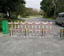 不锈钢防撞自动升降柱,公园预埋式升降路桩