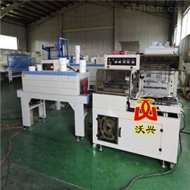L-450生产二合一刹车片封切套膜热收缩包装机