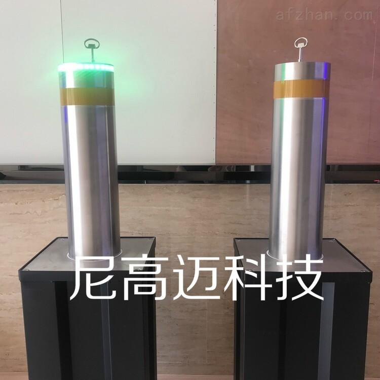 可升降警戒柱 液压气动止车柱 带LED灯
