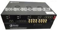 4路雙向HDMI8路模擬視頻多業務光端機