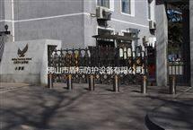 DB浙江台州埋地路障柱,升降桩
