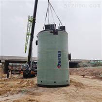 上海一體化預制泵站污水提升泵站玻璃鋼