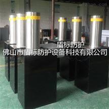 广州防撞伸缩阻车桩,学校液压遥控升降柱