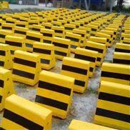 厂家现货水泥隔离防撞墩 围挡安装基础墩