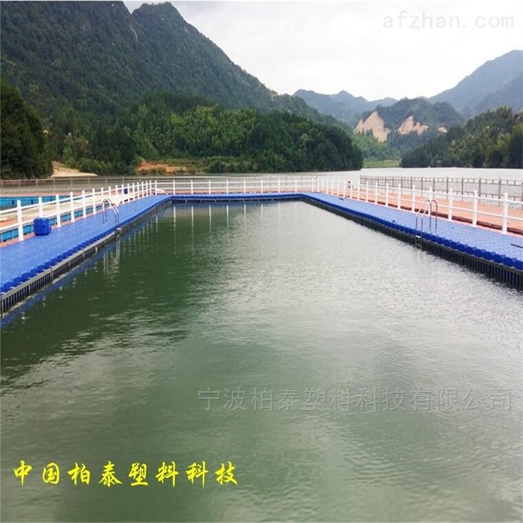 水库浮桥栈道水上平台浮筒厂家