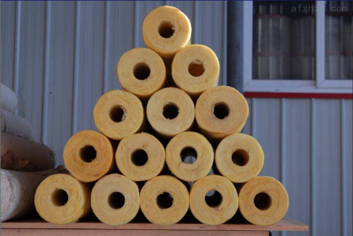 供应60*60玻璃棉保温管壳近期报价