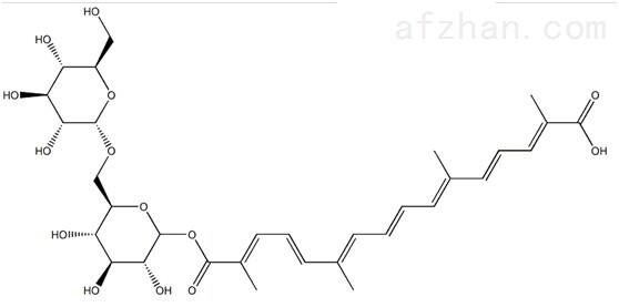 西红花苷III