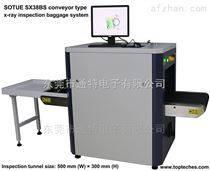 X光安检机行李扫描仪原理