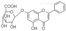 白杨素-7-O-葡萄糖醛酸苷