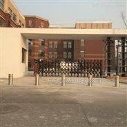 小學校門口隔離防撞自動升降柱路樁