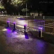 交通道路阻車伸縮路樁步行街液壓升降柱