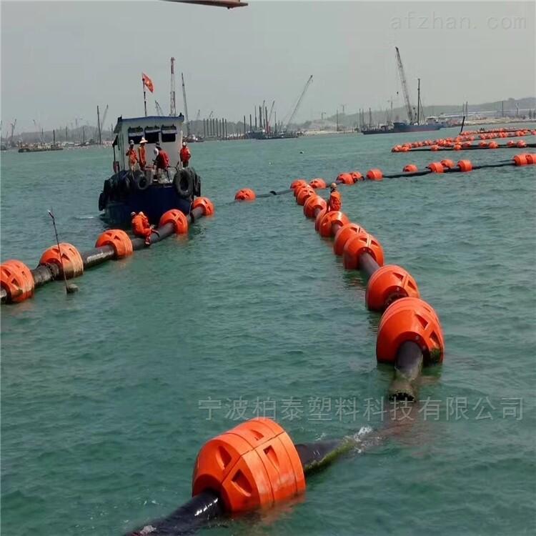 航道疏浚浮体 抽砂船夹管浮筒