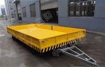 封閉欄板平板牽引拖車 平板掛車報價