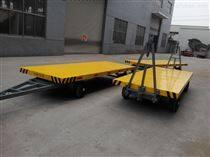 双转盘牵引平板拖车