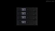 多瓦數可選IP網絡數字化廣播終端可置SD卡