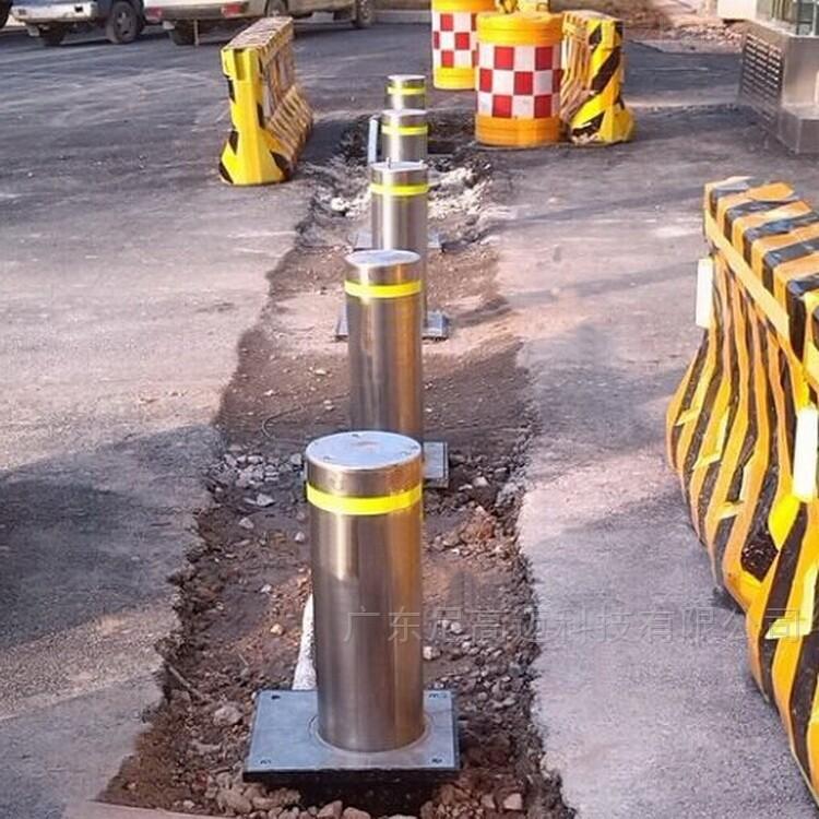 自动伸缩柱-液压全自动升降柱