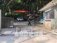 廣州景區公園安裝304不銹鋼電動攔車升降柱