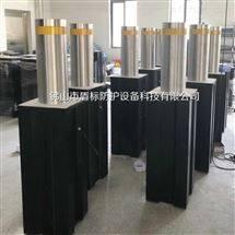 DB电动升降阻车柱子,液压一体式升降柱路障