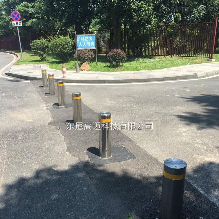 景区车辆禁行通道防冲撞智能伸缩路桩