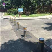 景區車輛禁行通道防沖撞智能伸縮路樁
