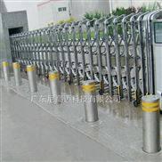 物防-电站阻车液压升降柱安装