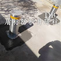 預埋式液壓手動升降阻車樁  攔截伸縮柱