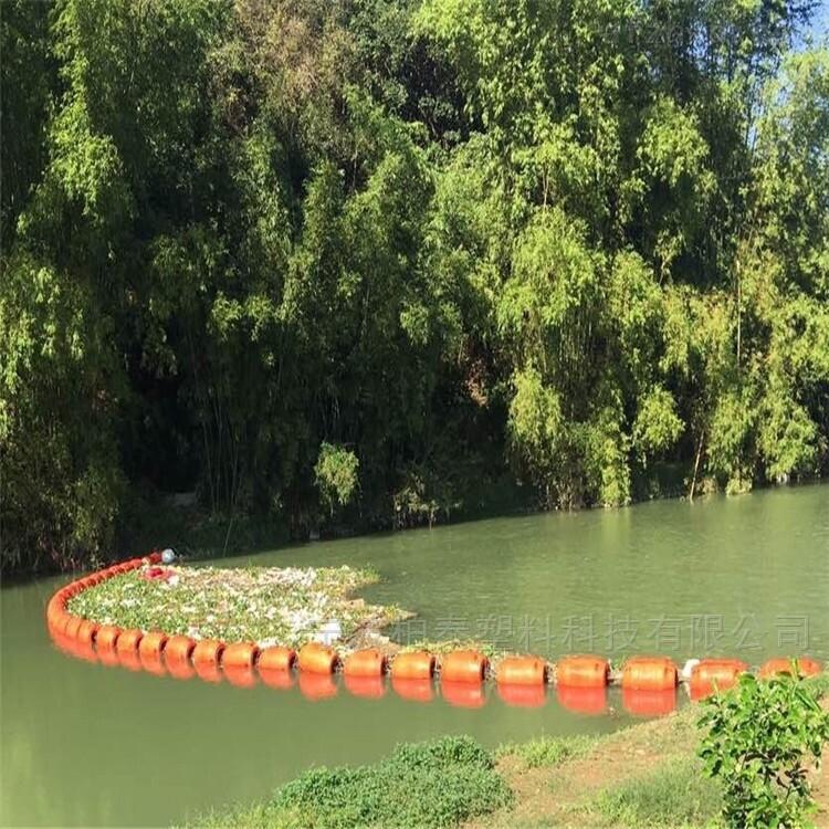 自由浮动式拦污漂浮筒