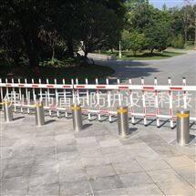 DB步行街隔离车止庄 伸缩式全自动升降柱