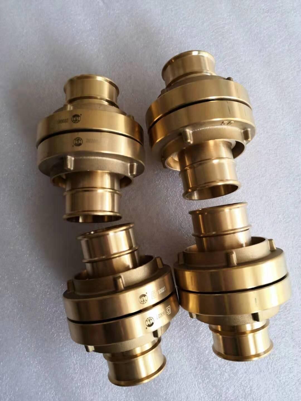 消防水带全铜接扣 德式消防接头