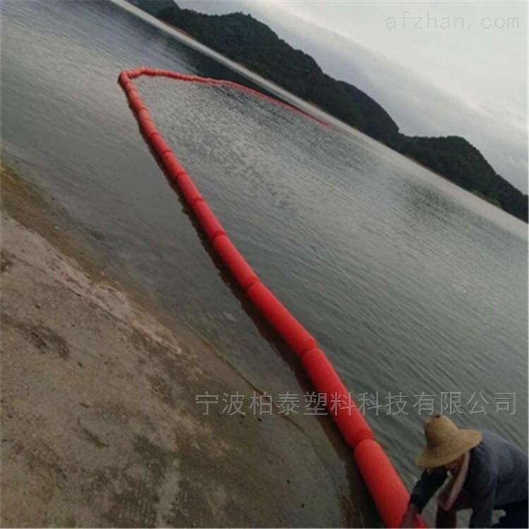 水库河道红颜色拦污漂浮体
