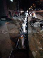 河南校园电动升降柱,伸缩隐形止车防撞庄