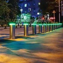 防闖交通設施升降柱路障-液壓伸縮攔截樁