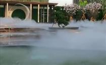 楼盘雾景系统 售楼部喷雾造景设备