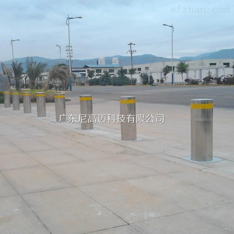 交通设施升降隔离桩,电动升降防撞柱
