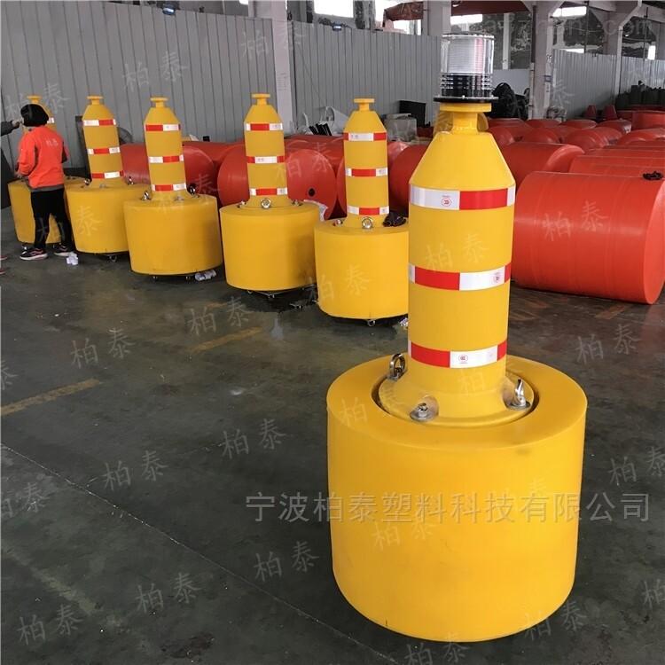 浅海航道警示浮标 浙江聚乙烯航标厂家