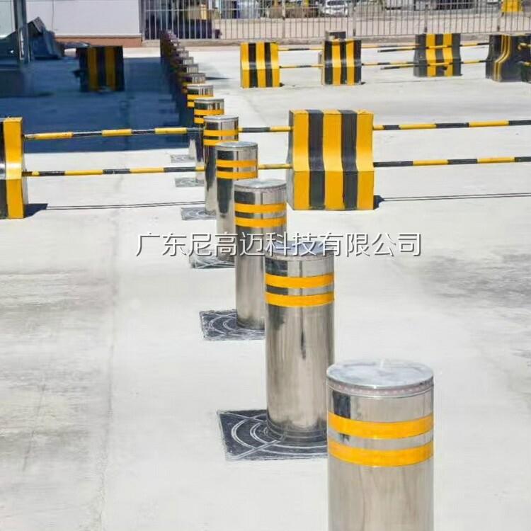校园升降柱学校防撞柱全自动液压升降路桩