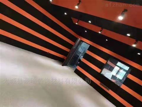 聚酯纤维玻纤板是一种理想的吸声装饰材料