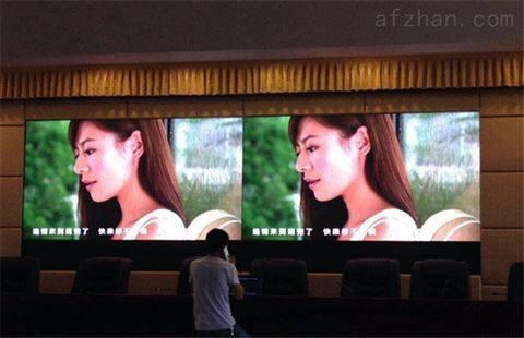 展厅P3LED显示屏一平方分辨率多少