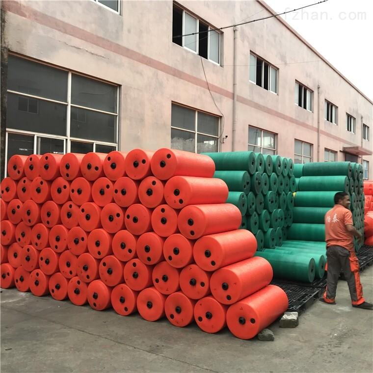 PE浮筒2瓣组合式拦污排浮漂桶 拦污浮体