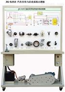 汽车充电与启动系统示教板