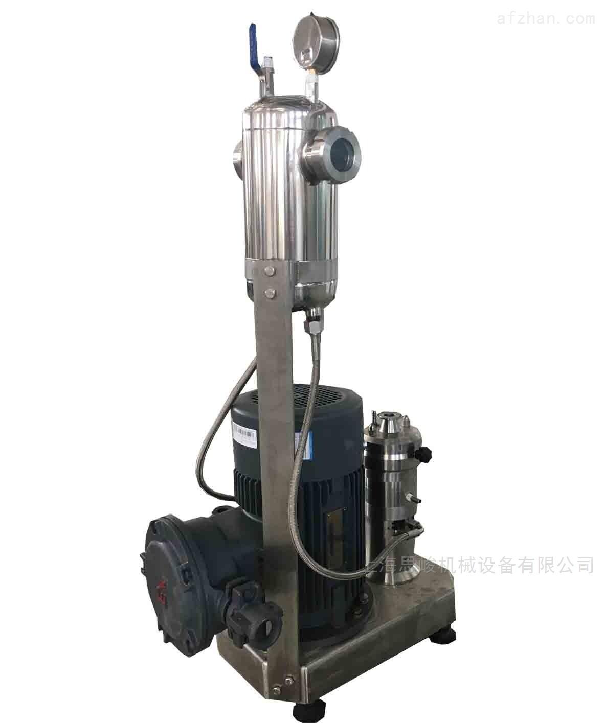 氮化硼超细研磨分散机
