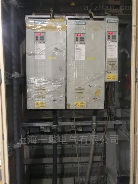 西门子6SE70变频器上电显示E无显示维修