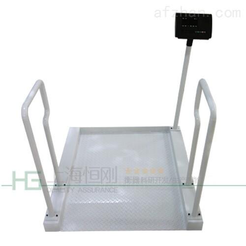 病人便捷轮椅称 透析计量轮椅体重秤