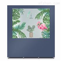 90寸透明液晶屏展示柜  触摸广告橱窗展柜