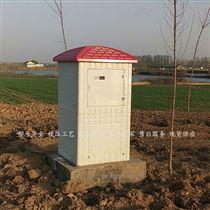 农田灌溉玻璃钢井房 射频卡机井灌溉控制器